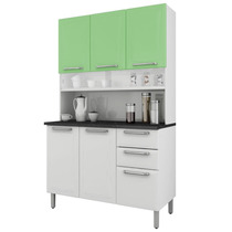 Armário Para Cozinha Regina Itatiaia I3g2-120 Branco/verde