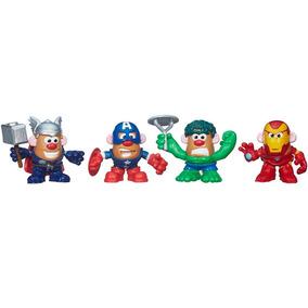 Boneco Sr. Batata Head Mash Ups Marvel C/ 4 Figuras - Hasbro
