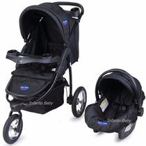 Carrinho De Bebê Triciclo 3 Rodasc/bebe Conforto Prime Baby