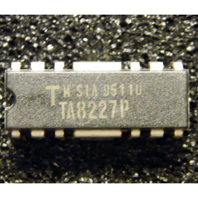 Ta8227p Stereo Audio Frequency Power Amplifier 2x3w