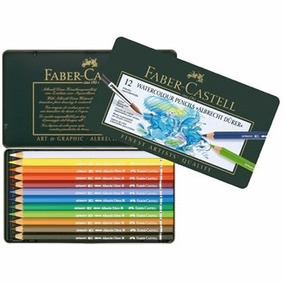 Lápis Faber-castell Albrecht Durer Aquarelável C/ 12 Cores
