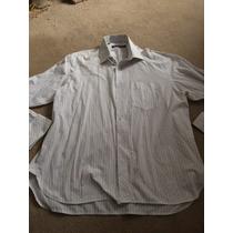 Camisa Ben Sherman Gg Branca Punho Duplo Para Abotoadura