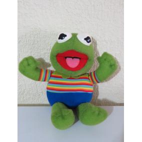 Peluche Rana Rene Kermit Muppet Babies 30cm