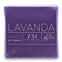 Jabón Artesanal De Tocador Perfumado Lavanda 75g Épona
