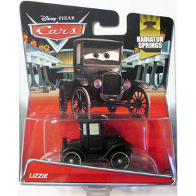 Cars 2 Disney Pixar, Lizzie. Escala 1:55