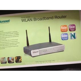 Router Micronet Sp916gn Nuevo En Caja, Cerrado
