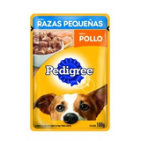 Alimento Perros Pedigree Smallbreed Sabor Pollo Sobre. +kota