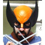 Mascara De Wolverine En Latex, Disfraz, X Men, Super Heroe