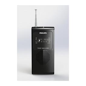Rádio Portátil Am/fm, Entrada P/ Fone De Ouvido- Philips