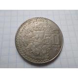 Error 50 Pesos 1982 Anverso Girado 140 Grados