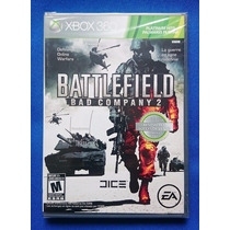 Battlefield Bad Company 2 Xbox 360 Nuevo Sellado Gamechieff