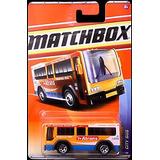 2011 Matchbox City Bus #67/100 (yellow-orange Atrans), City