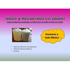 Kit 2kg Jabón Glicerina, 1esencia+ 1colorante + 1molde