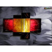 Cuadros Al Oleos Decorativos, Pinturas Abstractos Flores