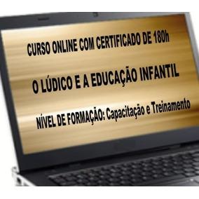 Curso De Formação, Treinamento, Com Apostilas Online 180h