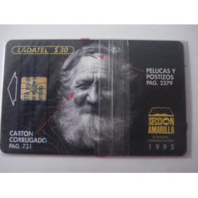 Tarjeta Ladatel C/ Blister Seccion Amarilla De 1995