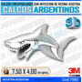 Calcomanias 3d Con Relieve, Accesorio Autos Tiburon
