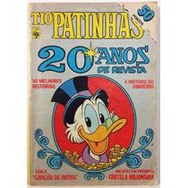 Tio Patinhas Especial N1 20 Anos De Revista (1983) Hq