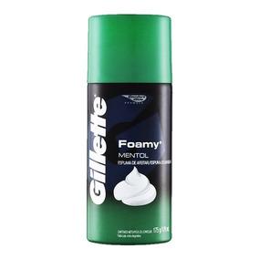 Espuma Gillette Foamy Mentol - 175g