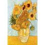 Vincent Van Gogh - Jarrón Con 12 Girasoles - Lámina 45x30 Cm