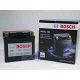 Bateria De Moto Bosch Em Gel Honda Biz 125 Es 2009 Até 2013