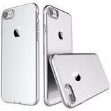 Capa Case Iphone 7 7 Plus Silicone + Vidro = Melhor Kit Ml