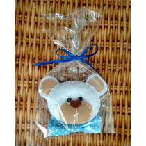 Kit 20 Lembrancinhas De Urso Em Feltro - Chaveiros