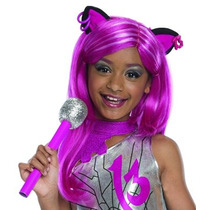 Disfraz Niño Traje Co Rubie - Monster High Catty Noir Peluc