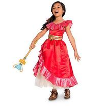 Disfraz Princesa Elena De Avalor Rojo T.2 Original Disney