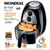 Fritadeira Air Fryer Af-03 Mondial Sem Óleo Elétrica - 110v