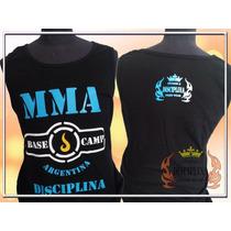 Musculosa Mma Base Camp Argentina - Disciplina