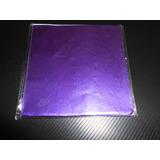 Papel Aluminio Bombones Color Uva 10 X 10 X 40unidades