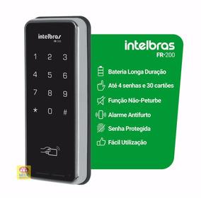 Fechadura Digital Eletrônica Touch Screen Intelbras Fr 200