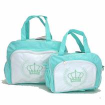 Bolsa Mala Saída Maternidade Kit Bebê Promoção Mv 3536 T Div