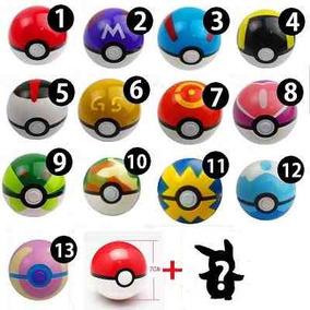 Pokebola Bola+miniatura Pokemon Promoção Dia Das Crianças -$
