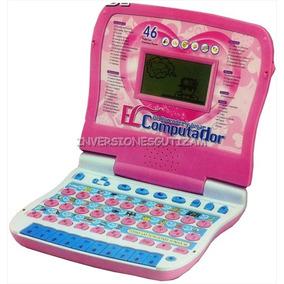 Computadora Juguete Para Niñas 46 Funciones Laptop Jd20263s