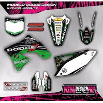 Kit Calcos Gráfica Kawasaki Kxf 250 - 2009/12 Gruesos!!!