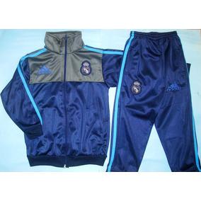 Conjunto Del Real Madrid Campera Y Pantalon Para Nene