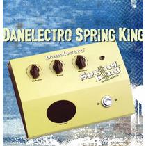 Pedal Danelectro Reverb De Mola Dsr1 Spring King P/ Guitarra