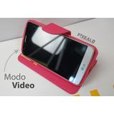 Funda Protector Tipo Cartera Piel Flip Case Sony Xperia T3