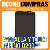 Pantalla Lcd Y Touch Para Lg Fino D290 Nuevo