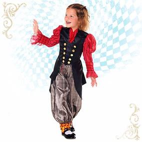 Traje Alicia Vestuario Disfraz Disney Store Talla 4 , 5/6