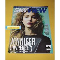 Jennifer Lawrence Danna Paola Revista Sky View 2013