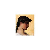 Pintura Arte Head Of A Roman Maiden Art, 15 X13.5