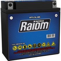 Bateria Moto Yt5,5l-bs 5,5ah Xtz 125 Ybr 125 Dafra Crypton