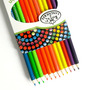 Caixa Com 12 Lápis De Cor Neons Royal & Langnickel - Rtn-15