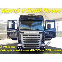 Scania R 480/440 6x4 2017 0km Ou Semi Novas