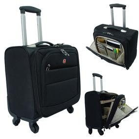 Mala De Bordo Rodas 360, Pasta P/ Macbook Ideal P/ Aeroporto
