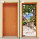 Adesivo Decorativo De Porta - Paisagem - 265mlpt
