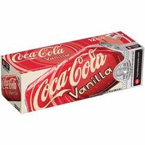 Coca Cola Vanilla Sabor Baunilha Caixa 12 Latas 355ml - Coke